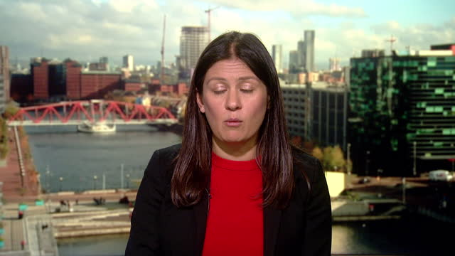 """lisa nandy saying she believes the uk could """"do more"""" to help with the coronavirus crisis in india - india politics stock videos & royalty-free footage"""