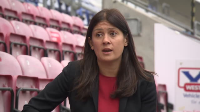 lisa nandy saying there are really serious questions to answer about how wigan athletic ended up going into administration - serious stock videos & royalty-free footage