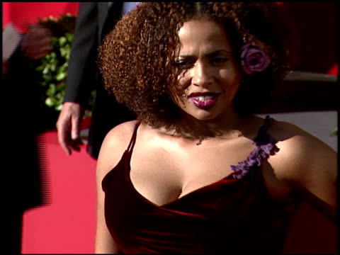 Lisa Nicole Carson at the 1999 Emmy Awards at the Shrine Auditorium in Los Angeles California on September 12 1999