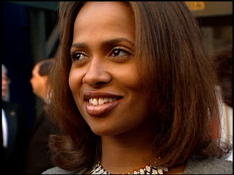 Lisa Nicole Carson at the 1999 TV Guide Awards entrances at Fox Studios in Century City California on February 1 1999