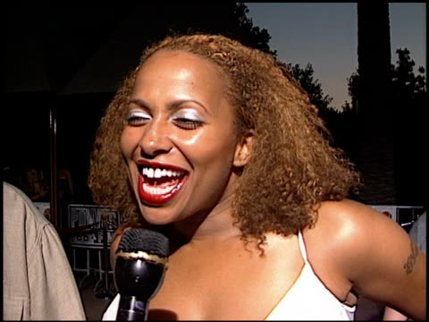 Lisa Nicole Carson at the 'Nutty Professor II The Klumps' Premiere at Universal Amphitheatre in Universal City California on July 24 2000