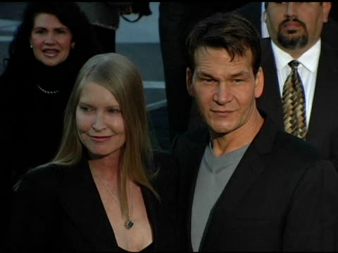 Lisa Niemi and Patrick Swayze at the Dediction of the Rodeo Drive Walk of Style Award to Herb Ritts and Mario Testino at Rodeo Drive in Beverly Hills...