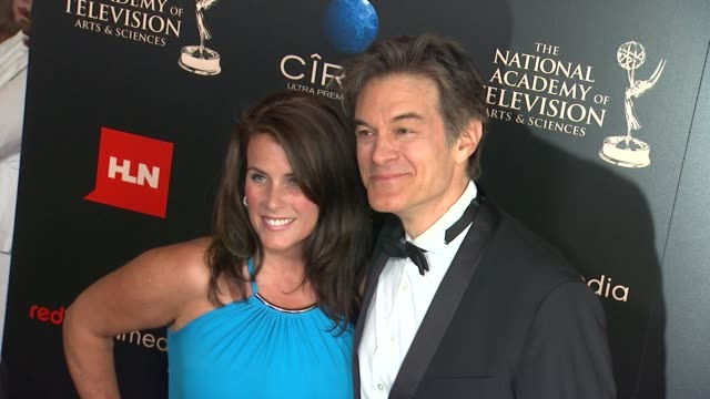 Lisa Oz Mehmet Oz at The 40th Annual Daytime Emmy Awards on 6/16/13 in Los Angeles CA