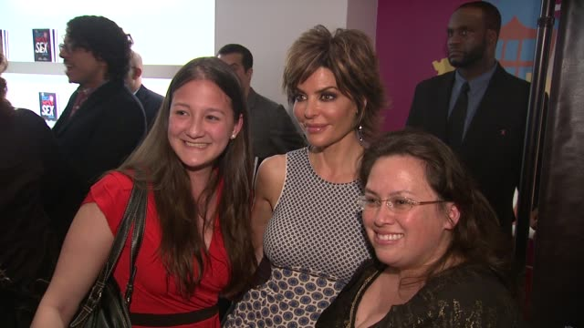 lisa rinna and guests at ky brand celebrates the launch of the big fun sexy sex book with coauthors lisa rinna and dr ian kerner at the museum of sex... - lisa rinna stock videos and b-roll footage