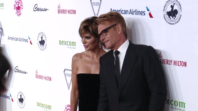 Lisa Rinna and Harry Hamlin at 2018 Carousel of Hope Ball at The Beverly Hilton Hotel on October 06 2018 in Beverly Hills California