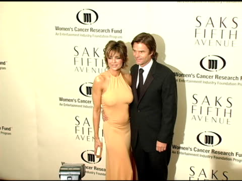 Lisa Rinna and Harry Hamlin at the 2005 Courage Award Given To Lance Armstrong At Saks Fifth Avenue's Unforgettable Evening at the Regent Beverly...