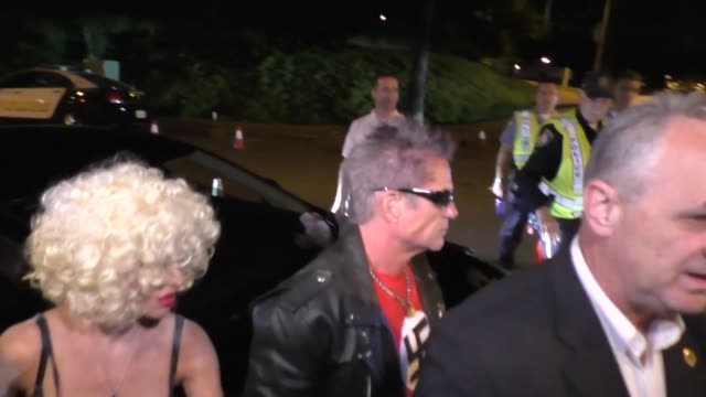 Lisa Rinna and Harry Hamlin at the Casamigos Tequila 'Dia De Los Muertos' Halloween party in Beverly Hills at Celebrity Sightings in Los Angeles on...