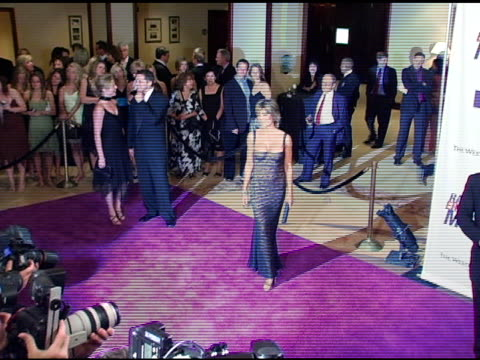 lisa rinna at the 12th annual race to erase ms themed rock and royalty to erase ms at the westin century plaza hotel in century city california on... - lisa rinna stock videos and b-roll footage