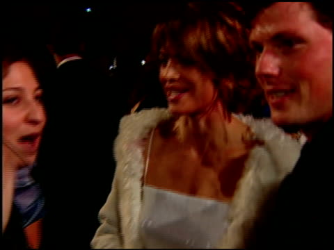 lisa rinna at the 2000 academy awards vanity fair party at mortons in west hollywood california on march 26 2000 - lisa rinna stock videos and b-roll footage