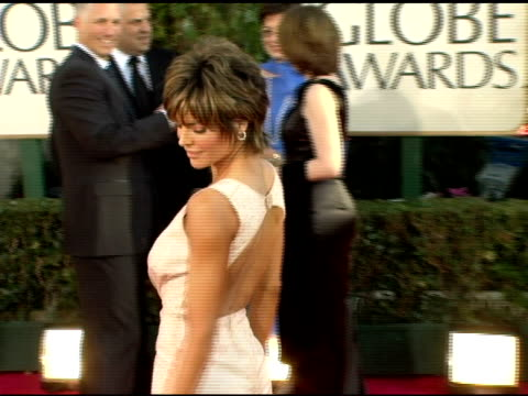 Lisa Rinna at the 2006 Golden Globe Awards Arrivals at the Beverly Hilton in Beverly Hills California on January 16 2006