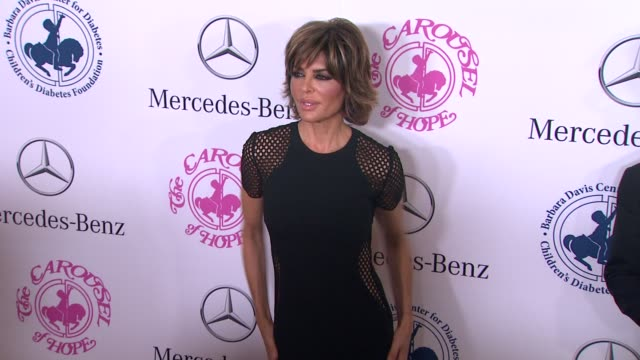 Lisa Rinna at The 2014 Carousel Of Hope Ball at The Beverly Hilton Hotel on October 11 2014 in Beverly Hills California