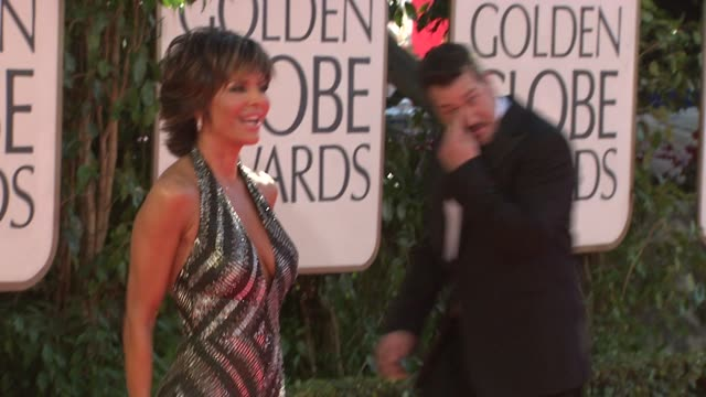 Lisa Rinna at the 66th Annual Golden Globe Awards Arrivals Part 3 at Los Angeles CA