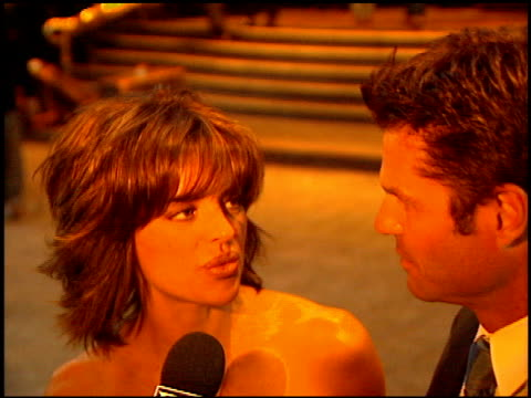 Lisa Rinna at the American Oceans Campaign Honoring Woody Harrelson at the Regent Beverly Wilshire Hotel in Beverly Hills California on March 13 1997