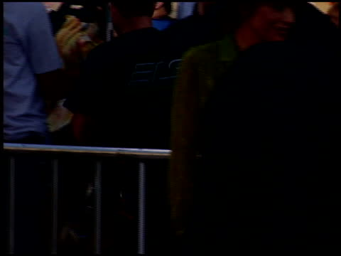 lisa rinna at the 'batman begins' premiere at grauman's chinese theatre in hollywood california on june 6 2005 - lisa rinna stock videos and b-roll footage