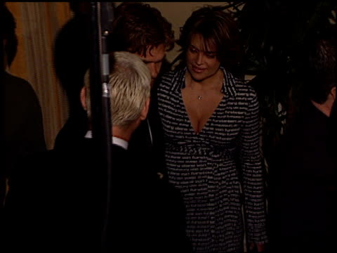 lisa rinna at the cedars-sinai courage awards gala at century plaza in century city, california on march 27, 2001. - century plaza stock videos & royalty-free footage