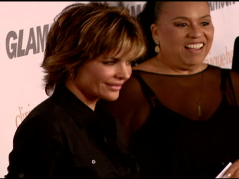 lisa rinna at the glamour reel moments presented by clinique kirsten dunst kate hudson and rita wilson make their directorial debuts at directors... - lisa rinna stock videos and b-roll footage