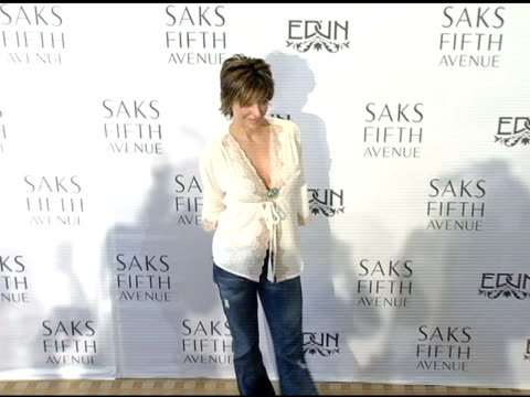 Lisa Rinna at the Launch of the New Conscious Commerce Clothing Line By Bono Ali Hewson and Rogan Gregory at Saks Fifth Avenue in Beverly Hills...