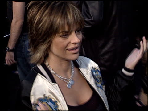 Lisa Rinna at the Premiere of 'The Matrix Reloaded' on May 7 2003