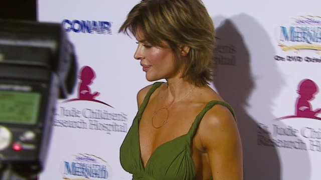Lisa Rinna at the Runway For Life Benefiting St Jude Children's Research Hospital at the Beverly Hilton in Beverly Hills California on September 15...