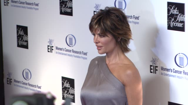 lisa rinna at the saks fifth avenue's 'an unforgettable evening' at los angeles ca - lisa rinna stock videos and b-roll footage