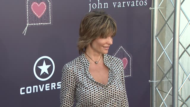 Lisa Rinna at the The John Varvatos 7th Annual Stuart House Benefit at Los Angeles CA