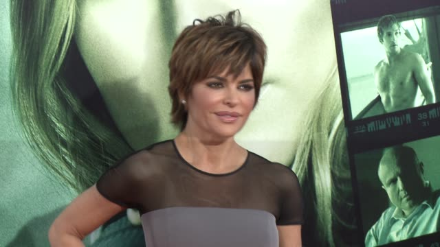 lisa rinna at veronica mars los angeles premiere at tcl chinese theatre on march 12 2014 in hollywood california - mann theaters stock videos & royalty-free footage