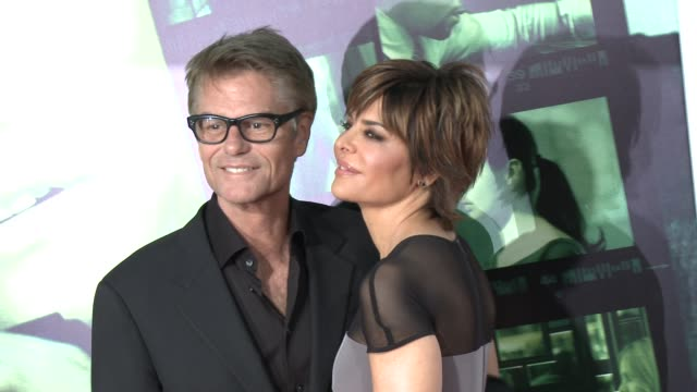 lisa rinna at veronica mars los angeles premiere at tcl chinese theatre on march 12 2014 in hollywood california - lisa rinna stock videos and b-roll footage