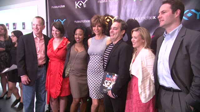 lisa rinna dr ian kerner and guests at ky brand celebrates the launch of the big fun sexy sex book with coauthors lisa rinna and dr ian kerner at the... - lisa rinna stock videos and b-roll footage