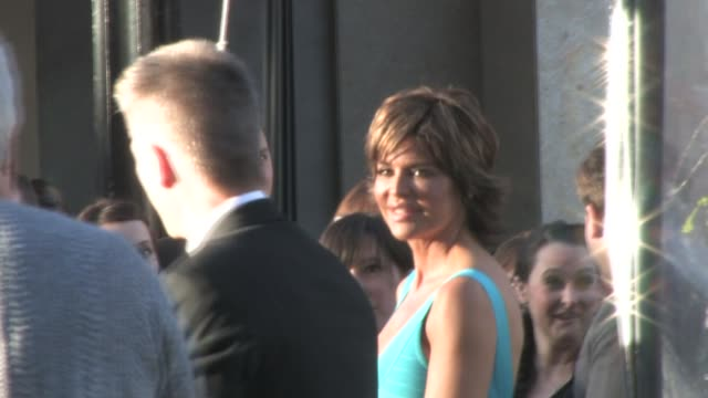 lisa rinna harry hamlin at clash of the titans premiere at the celebrity sightings in los angeles at los angeles ca - harry hamlin stock videos and b-roll footage