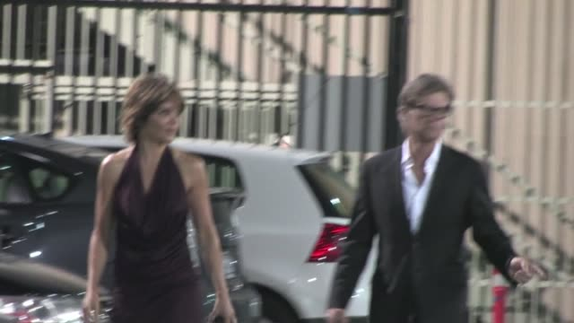 Lisa Rinna Harry Hamlin at the Orpheum Theatre in Los Angeles