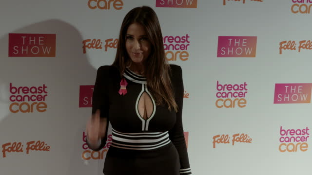 Lisa Snowdon at Breast Cancer Care Show London in association with Folli Follie evening show at Park Plaza Westminster Bridge Hotel on November 02...