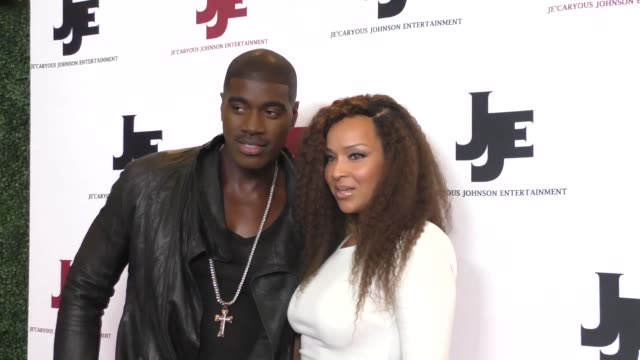 lisaraye mccoy and terrell carter at the 'it's a starry night' premiere at the orpheum theatre in los angeles at celebrity sightings in los angeles... - lisaraye mccoy stock videos & royalty-free footage