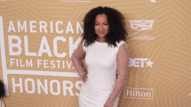 lisaraye mccoy at the the american black film festival honors awards ceremony at the beverly hilton hotel on february 23 2020 in beverly hills... - lisaraye mccoy stock videos & royalty-free footage