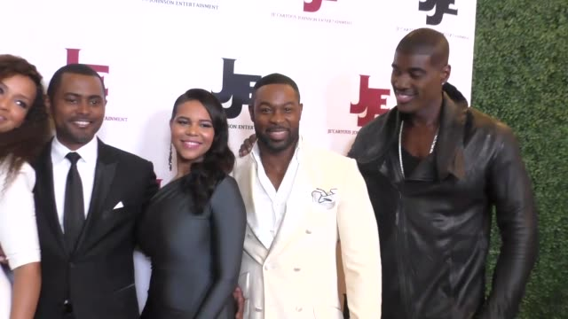 LisaRaye McCoy Carl Anthony Payne II Darrin Dewitt Henson Terrell Carter and Je'Caryous Johnson at the 'It's A Starry Night' premiere at The Orpheum...