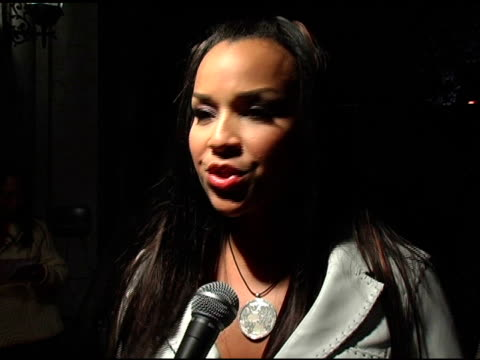LisaRaye McCoy On the first time she saw the Vagina Monologues on the importance of tonight's event at the 'Vagina Monologues' play and red carpet...