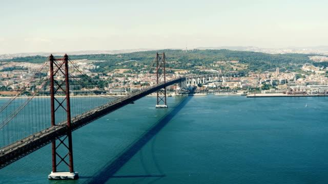 リスボンの橋 - 橋点の映像素材/bロール
