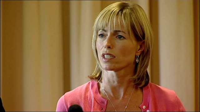 lisbon photography *** kate mccann press conference sot jaycee dugard case - kate mccann stock videos & royalty-free footage