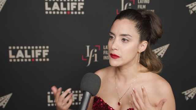 """lissette feliciano at the laliff closing night """"women is losers,"""" red carpet capture produced by cindy maram, dig in magazine/in close entertainment... - tcl chinese theatre stock videos & royalty-free footage"""