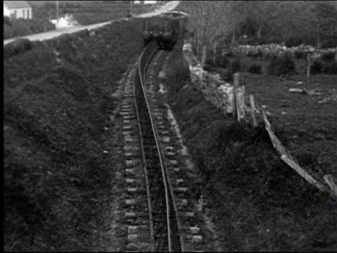 Listowel and Ballybunion Railway monorail steam train railway steam engine transportation Listowel and Ballybunion Railway on January 01 1920 in...