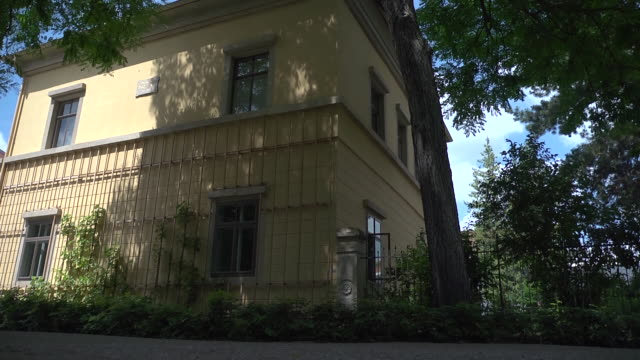 liszt house - weimar video stock e b–roll
