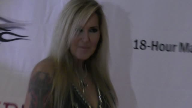 lita ford at the 5th annual rock godz hall of fame awards at hard rock cafe on october 26 2017 in hollywood california - hard rock cafe stock videos & royalty-free footage