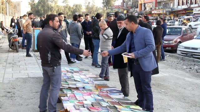 Literary cafes poetry readings and pavement bookstalls Mosul's cultural scene is back in business months after Iraqi forces ousted the Islamic State...