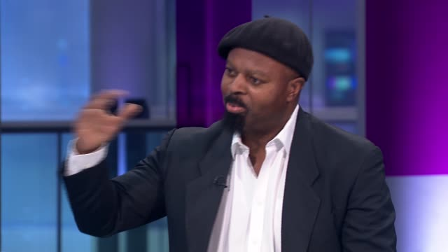ben okri interview england london gir int ben okri studio interview sot/ ben okri reads rainer maria rilke poem silent hour from collection 'rise... - literature stock videos and b-roll footage