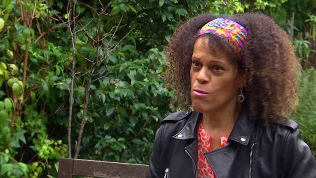 bernardine evaristo interview; part 1 of 2 england: london: ext bernardine evaristo interview sot - re: becoming first black female head of uk drama... - literature stock videos & royalty-free footage
