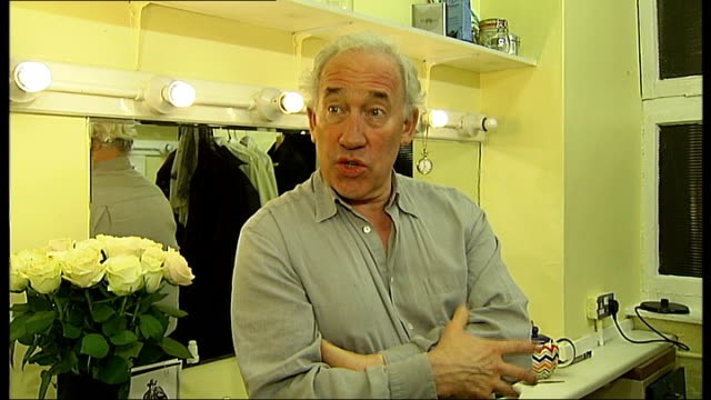 charles dickens bicentenary celebrations callow interview england london int simon callow interview sot talks of what attracts him to charles dickens... - charles dickens stock videos and b-roll footage