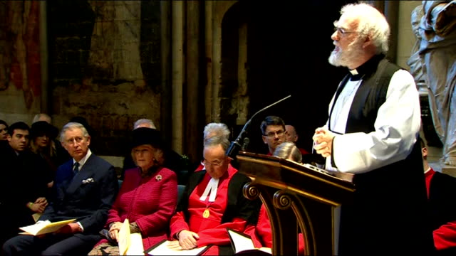 literature: charles dickens bicentenary celebrations: service at westminster abbey; - but in that book, which one reader at least thinks is perhaps... - charles dickens bildbanksvideor och videomaterial från bakom kulisserna