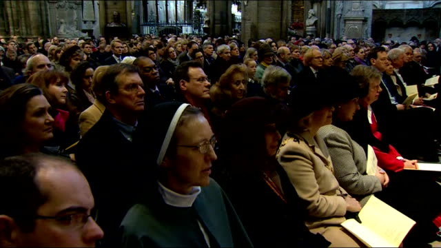 literature: charles dickens bicentenary celebrations: service at westminster abbey; - but what happens when those stories and those scripts are so... - literature stock-videos und b-roll-filmmaterial