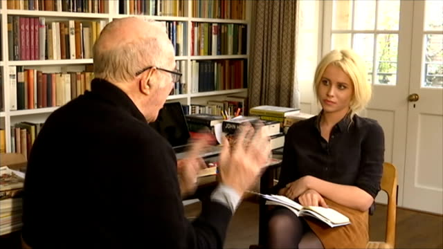 clive james interview; clive james interview sot/ - literature stock videos & royalty-free footage