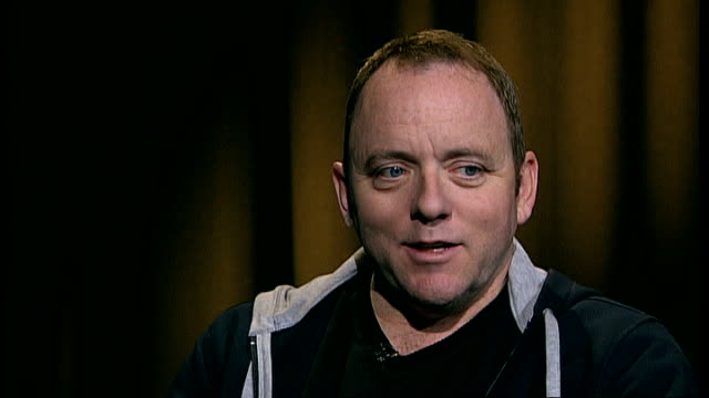stockvideo's en b-roll-footage met dennis lehane interview; int dennis lehane interview sot - literature