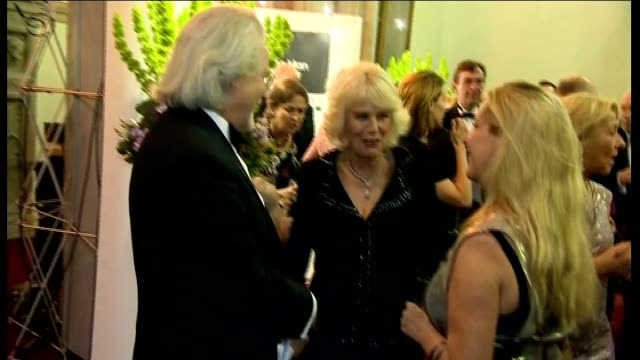 duchess of cornwall presents man booker prize england london guildhall photography*** camilla duchess of cornwall out of car and arriving / camilla... - man booker prize stock videos & royalty-free footage